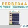 INFOGRAFIK: 5 Perbedaan Bank Syariah dan Bank Konvensional