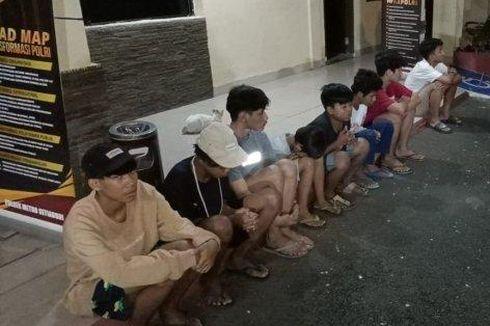 Mau Foto-foto di Epicentrum Sambil Bawa Sajam, 8 Remaja Diamankan
