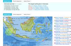 Twin Earthquakes Shake Indonesian Province of Bengkulu