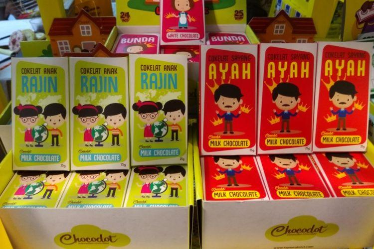Produk cokelat asal Garut, Chocodot.