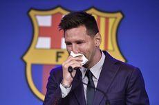 Tisu Messi untuk Seka Air Mata Saat Perpisahan Barcelona Dijual Rp 14 Miliar