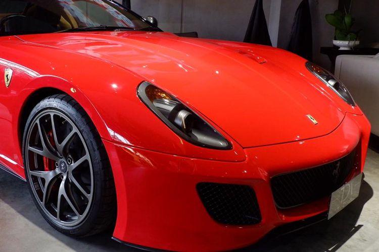 Harga Ferrari 599 GTO bekas di TDA Luxury Toys tembus Rp 16 miliar.