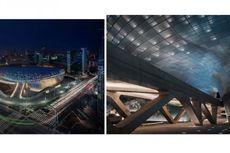 Karya Futuristik Zaha Hadid Ramaikan Cakrawala Seoul