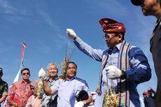 Kunjungi Lombok Timur, Menteri Edhy Dihadiahi Mutiara