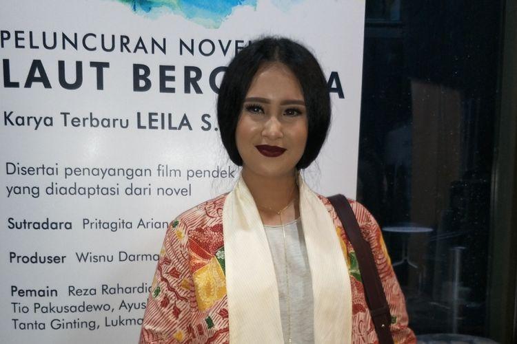 Ayushita Nugraha dalam wawancara di Institut Français dIndonésie (IFI), Jakarta Pusat, Selasa (12/12/2017).