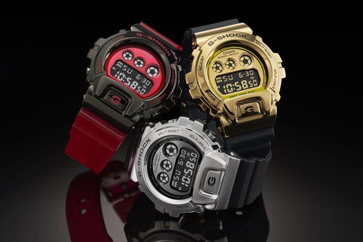 Dengan bezel berbahan stainless steel  yang ditempa hingga 20 kali, dan mendapatkan sentuhan akhir yang mewah dengan warna-warna baru, menjadikan jam tangan G-Shock GM-6900 terlihat berbeda.