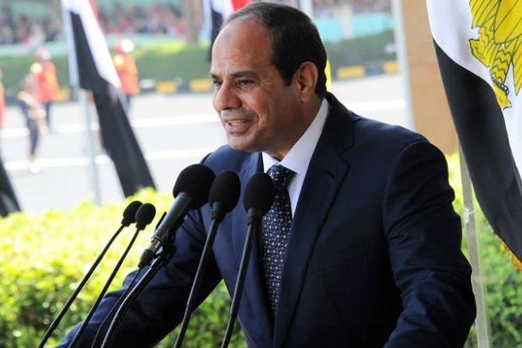 Presiden Mesir Abdul Fattah al-Sisi.