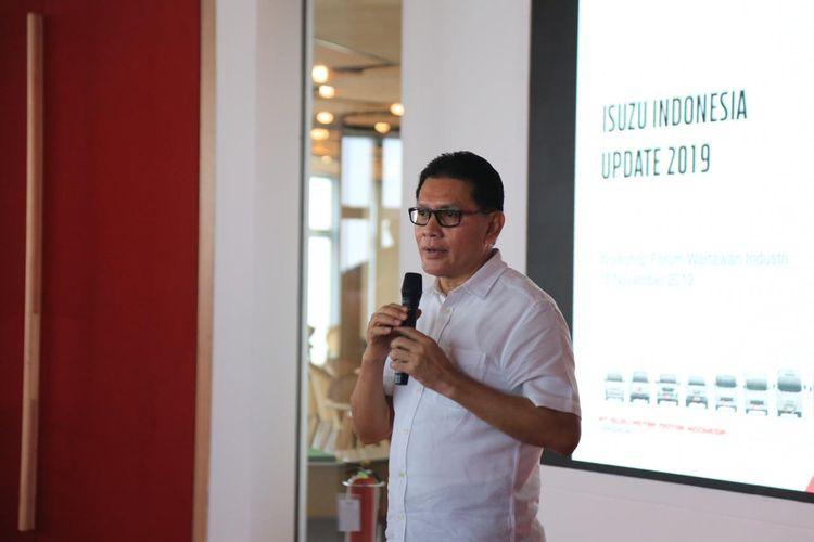 Direktur Marketing IAMI Rahmat Samulo di Jakarta, Senin (18/11/2019)
