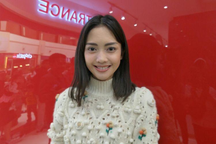 Ririn Dwi Arianti saat ditemui di kawasan Pondok Indah, Jakarta Selatan, Minggu (23/2/2020).