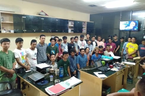 19 Pemuda yang Positif Narkoba di Kampung Ampai hanya Direhabilitasi