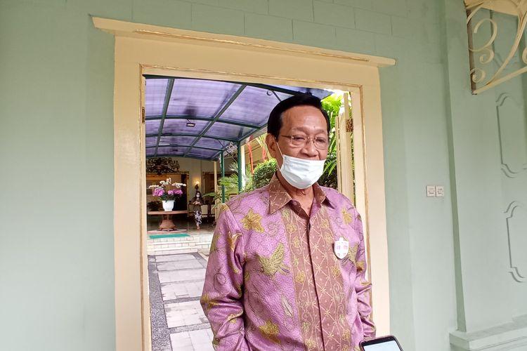 Sultan ditemui di Kantor Gubernur, Kompleks Kepatihan Kamis (17/12/2020)