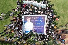 ARMY Gelar Aksi Tanam Pohon untuk Ulang Tahun RM BTS