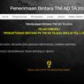 Rekrutmen Bintara TNI AD 2021, Berikut Persyaratan dan Cara Daftarnya
