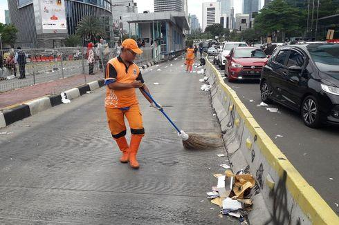 Deretan Peristiwa Petugas PPSU Kecelakaan Saat Menyapu Jalan