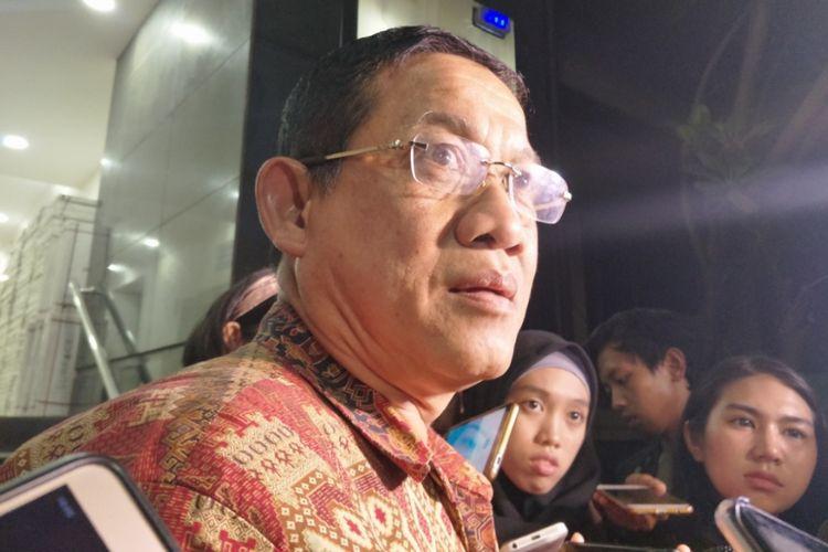 Kuasa hukum RS Bina Estetika, Arrisman memenuhi panggilan penyidik Polda Metro Jaya terkait kasus penyebaran berita bohong Ratna Sarumpaet, Kamis (4/10/2018).