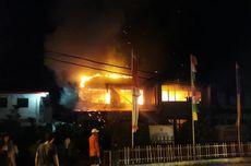 Kantor Bappeda Kabupaten Nias Terbakar