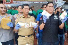 Polisi Tangkap Pengedar Ganja Gorila Sintetis di Bandung