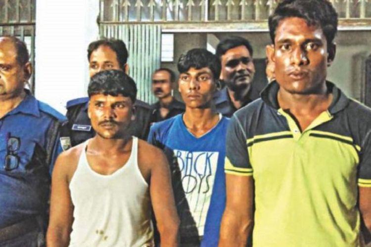 Tiga pelaku pemerkosaan Rupa Khatun Pramanik diciduk oleh Kepolisian Banglades