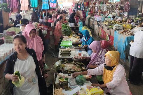 New Normal Kota Tegal, Pembeli dan Pedagang Pasar Tak Pakai Masker