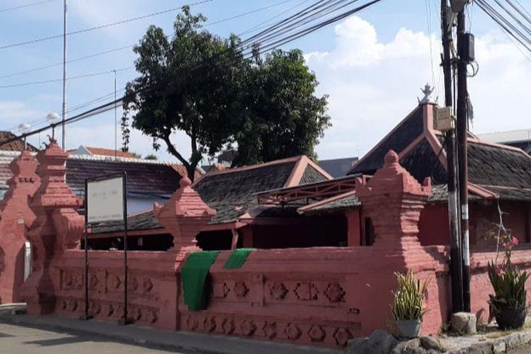 Tajug Merah Panjunan di Cirebon.