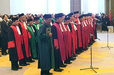 Ketua MA Lantik 2 Dirjen Baru dan 25 Ketua Pengadilan Tingkat Banding