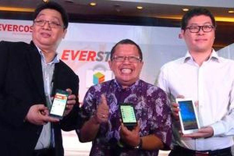 Peluncuran toko aplikasi Everstore.