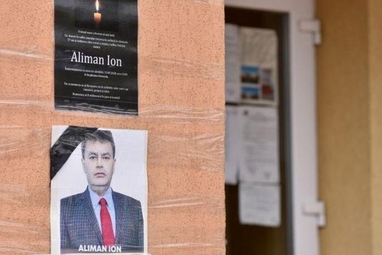 Ion Aliman, Wali Kota Deveselu, Romania, yang dinyatakan kembali menang pilkada dua pekan setelah dia meninggal karena Covid-19.