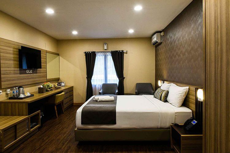 Hotel kontainer Jeep Station Indonesia Resort.