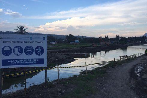 Dukung KSPN Danau Toba, Konstruksi Alur Tano Ponggol 93,5 Persen