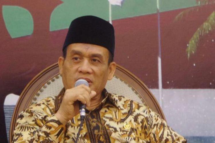 Anggota Komisi III dari Fraksi Partai Gerindra, Muhammad Syafii di Kompleks Parlemen, Senayan, Jakarta, Jumat (!6/12/2016)