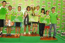 SDN 179 dan SMPN 12 Palembang Boyong Piala Taufik Hidayat