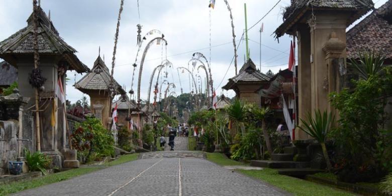 Desa Penglipuran, Kabupaten Bangli, Bali.