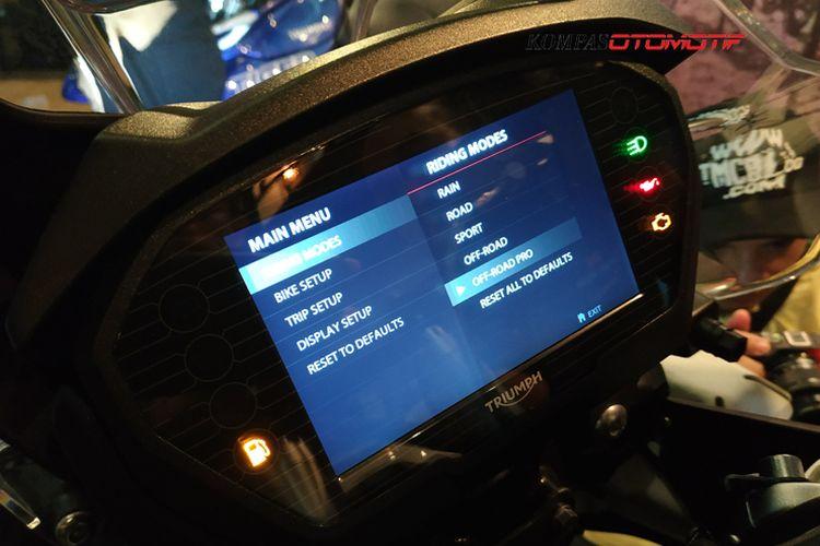Impresi awal Triumph New tiger 800 XCX