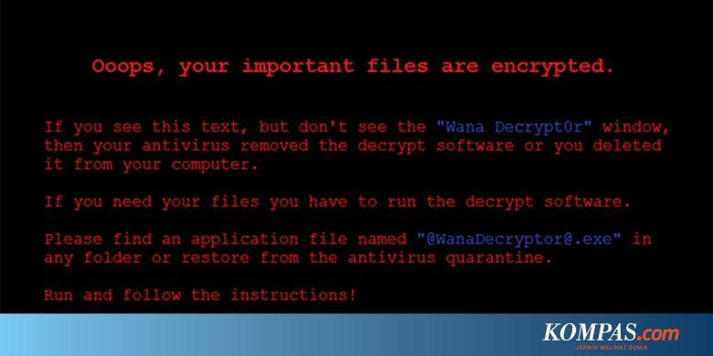 Kronologi Serangan Ransomware WannaCry yang Bikin Heboh