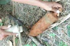 Warga di Luwu Temukan Benda Mirip Mortir di Timbunan Tanah Urukan