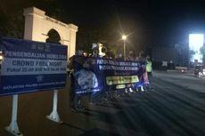 266 Pemotor yang Gunakan Knalpot Bising Ditindak Polisi Saat Crowd Free Night Semalam