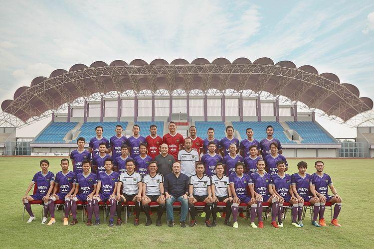 Skuad Persita Tangerang untuk musim 2019.