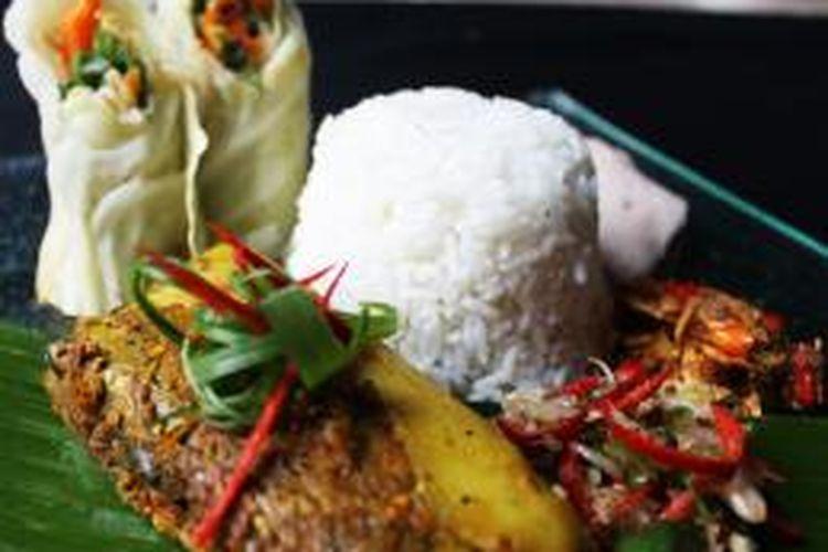 Tum ikan khas Bali