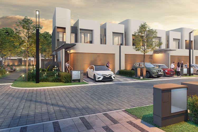 Klaster pertama yang akan dihadirkan di Shila at Sawangan adalah The Grove. Klaster ini memiliki dua tipe rumah dengan desain arsitektur mewah, yaitu The Courtyard dan The Terrace