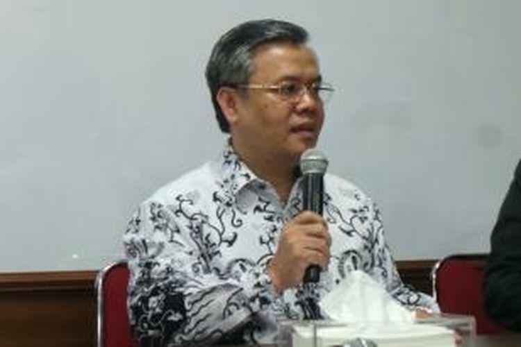 Ketua Umum Pengurus Besar Persatuan Guru Republik Indonesia Sulistiyo