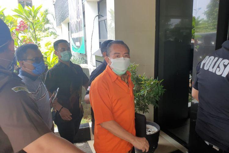Joko Soegiarto Tjandra alias Djoko Tjandra saat dilimpahkan ke Jaksa Penuntut Umum (JPU), Senin (28/9/2020).