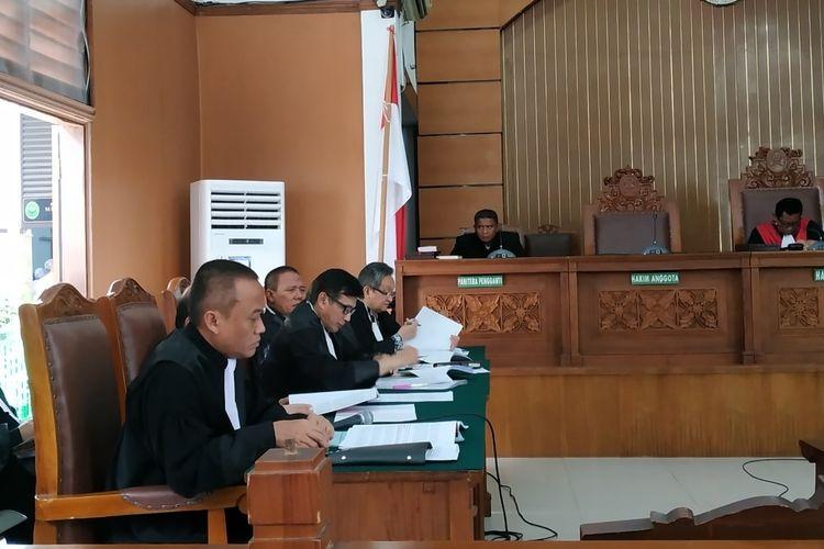 Sidang praperadilan Romahurmuziy di PN Jakarta Selatan, Senin (6/5/2019).