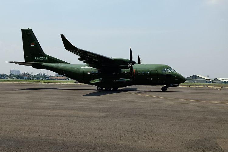 PT Dirgantara Indonesia (DI) mengirimkan satu unit pesawat CN235-220 pesanan Nepalese Army (angkatan darat Nepal), Rabu (30/10/2019).