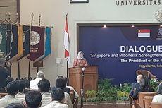 Kunjungi UGM, Presiden Singapura Berharap Ada Kerja Sama di Bidang Ekonomi Digital