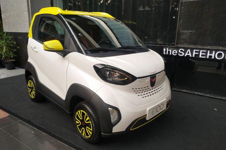 Wuling E100 Mobil Listrik Imut Asal China