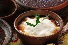 Resep Bubur Sumsum Saus Durian, Makanan Hangat buat Cuaca Dingin