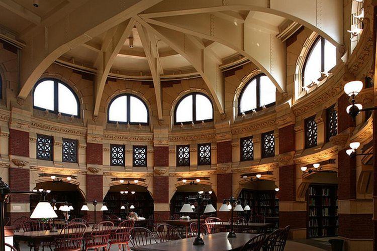The Fisher Fine Arts Library in Philadelphia, Pennsylvania