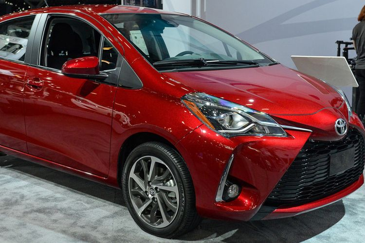 Generasi Baru Toyota Yaris hadiri New York Auto Show 2017.