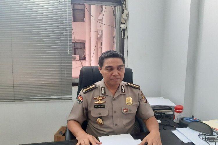 Kabid Humas Polda Sulut Kombes Pol Jules Abbast saat diwawancara, Senin (10/2/2020) pukul 13.37 WITA