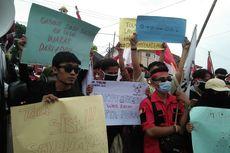 Demo Mahasiswa di Lampung, Pakai Gaya Milenial Menyindir DPR